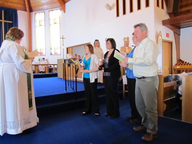 Presentation of Communion Vessels