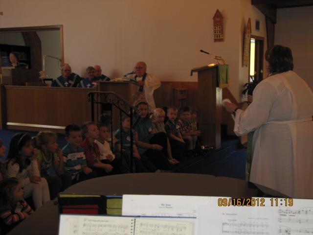 Rev. Tanya & our children